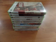 Lot of 12  XBOX 360 games - Tekken - Fifa - Prince of Persia - Devil May Cry - Wet
