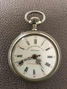 Louis Roskopf S.A. Patent – Anti-magnetic – Pocket watch – around 1906