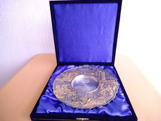 Gift plate of the Sultan of Malaysia