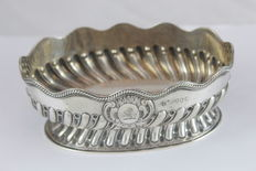 Silver Bon Bon dish from London - 1885