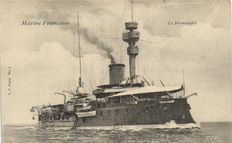 Shipping Marine France 84 x - cards of French Cruisers-around W.O. 1-1905/1925