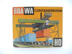 Brawa H0 - 1161 - electric container crane [404]