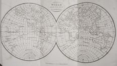 Geografie; Richard Brookes - A General Gazetteer; or, Compendious Geographical Dictionary - 1830