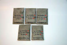 Lot 5 bags of coffee beans Reichsführer 1943