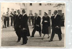 Royalty Luxembourg over 85X - Photos and some postcards of the King of the Grand Duchy - 1950/1965