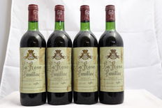1981 Chateau La Rose Pauillac, Pauillac, France, 4 bottles