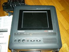 Orion Combi 650VR - portable LCD color television with built-in VHS recorder - works on batteries & car charger
