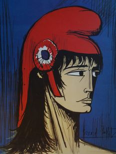 Bernard Buffet (after) - Marianne au bonnet phrygien