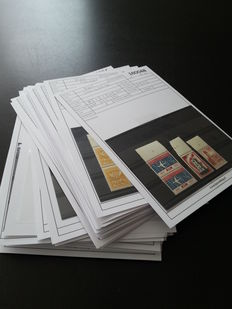 The Netherlands - batch of stamps and letters/cards.