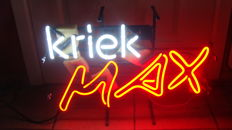 Neon sign - Kriek Max - 2010
