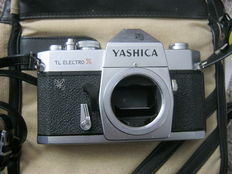 Yashica TL Electro X with 3 lenses