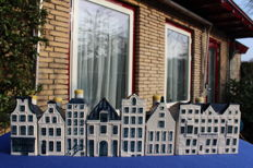 6 KLM houses (BAKER) + House of BOLS