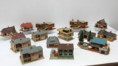 Faller H0 - Design houses and buildings from the 1960s