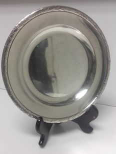 Round Christofle serving platter