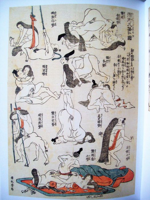 Shunga; Lot with 2 books on Japanese erotic woodblock prints - 1995/2014