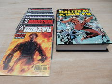 Shang-Chi Master of Kung Fu – Omnibus 1 – hc with dust jacket – (2016) + Shang-Chi Master of Kung Fu – Marvel Max 1 to 6 – 5x sc – (2002)