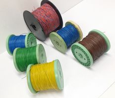 Electricity Cable - Hundreds of meters in various colours