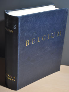 Belgian territories – Collection in Minkus album with Belgian Congo, Congo, DRC, East Africa, Rwanda, Zaire and Burundi.