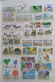 Europa Stamps 1961/1989 - collection in stock book