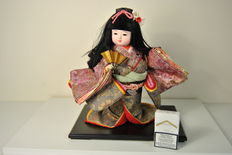 Puppet with fan - Japan - Mid 20th century