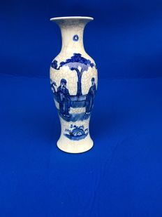 Vase in cracked porcelain - China - end of 19th century