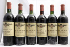 1970 Chateau Tour De Pez, Saint-Estephe, France, 6 bottles.