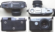 Olympus Pen FT camera with lenses, bellow, filters etc. in perfect condition.
