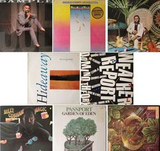Jazzrock / Fusion  Lot Of  Eight  ( 8 ! )  Records Including Various Famous Artists / Bands