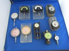 Collection of 10 x micrometers