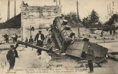 Catastrophes France 44 x - cards of disasters in different places-1905/1920