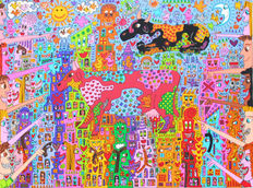 James Rizzi - Look - There Are Cows In The City