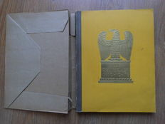 Pictures German history complete - collector's album with original cover