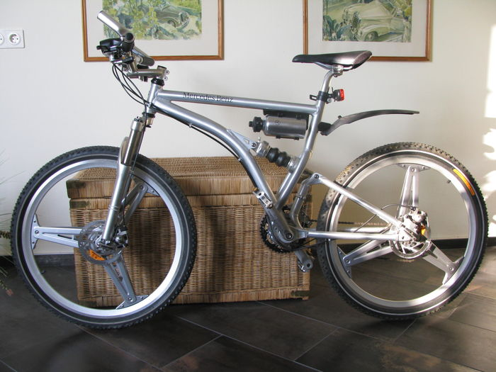 9136efad788 Mercedes-Benz mountain bike full suspension folding new year of production  2001