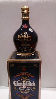 Glenfiddich 18 years old Ancient Reserve Blue Decanter