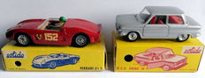 Solido - Scale 1/43 - Lot of Ferrari 2L5 No.129 and NSU Prinz No.127