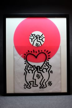 Keith Haring Art Cover Lp  Are you ready for Love