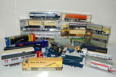 Scenery H0 - Several Trucks, approximately 27 (parts) pieces