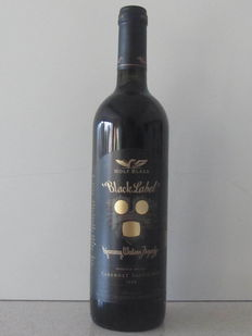 Wolfblass Black Label 1998 x 1 bottle, signed by Wolf Blass