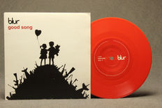"Banksy Art Cover 7"" Single Blur Good Song"