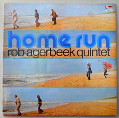 Rob Agerbeek Quintet - Home Run - first  Dutch press on Polydor