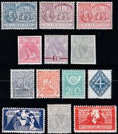 Netherlands 1907/1923 - Six complete  issues
