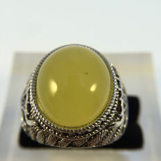 925 silver Cloisonne ring