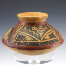Pre-Columbian polychrome Narino vessel - 148,3 x 107 mm
