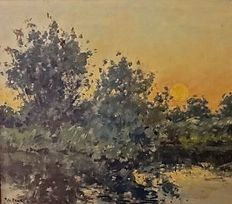 REGT, PIETER DE (1877-1960) - Sunset