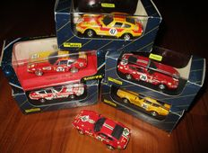 "Top Model Collection / Verem - Scale 1/43 - Lot with 6 model cars: 6 x Ferrari 365GTB/4 ""Daytona"" Le Mans"