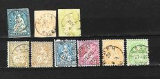 Switzerland 1854/1954  - Selection between Michel 14/594