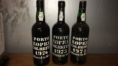 1974 & 1975 & 1978 Colheita Port Kopke – 3 bottles
