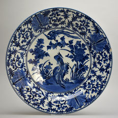 Large Arita bowl, Japan, late seventeenth century