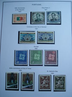 Portugal 1961 / 1980 complete collection including  sheets
