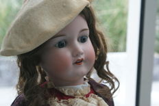 Beautiful large antique doll